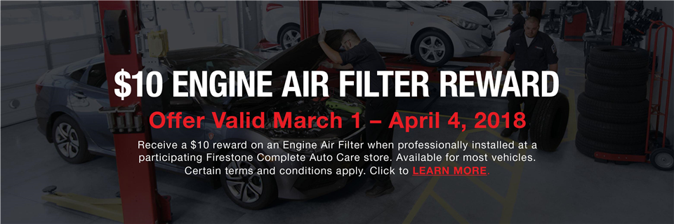 2018 Engine Air Filter - FCAC
