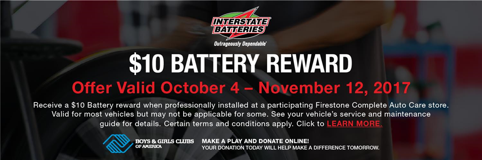 2017 October Battery - Firestone Complete Auto Care